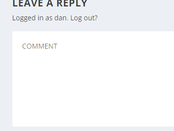 Change the Comment Box Background Color in Extra