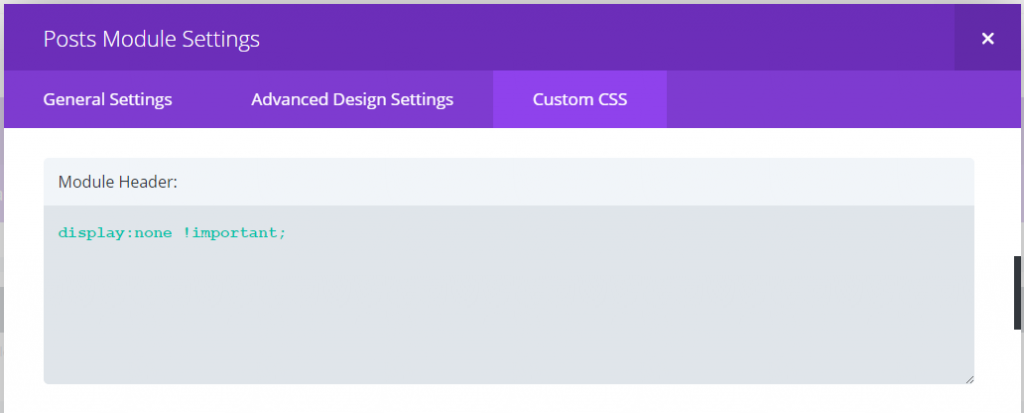 posts-module-setting-hide-main-heading