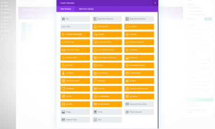 Enabling the Standard Divi Modules on Extra Categories